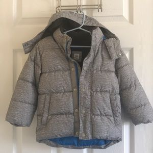 Gap toddlers snow/cold weather puffer jacket